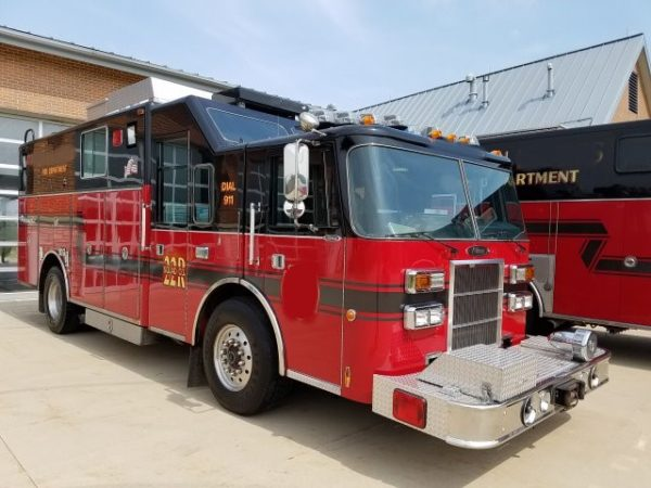 Hoffman Estates FD fire truck for sale