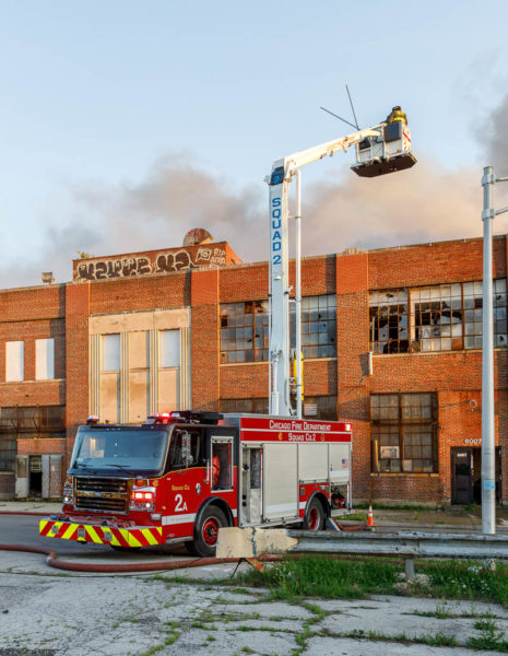 Chicago FD Squad 2A at work