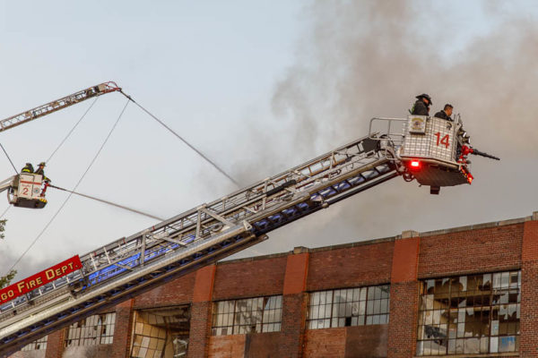 Chicago Fire Department Tower Ladder 14