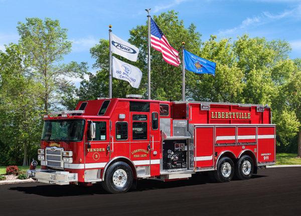 Libertyville FD Engine 3