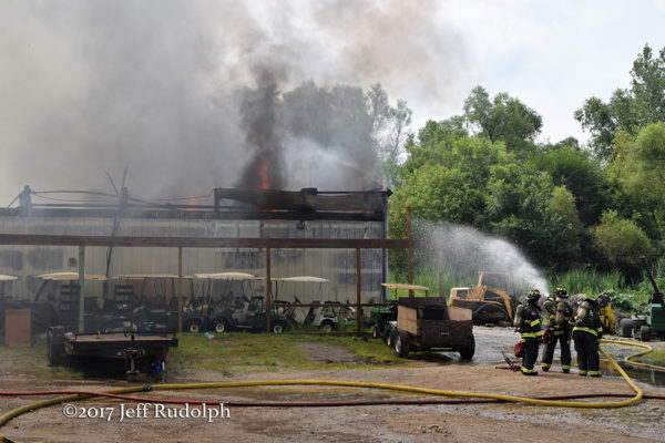 Lakemoor Country Club fire