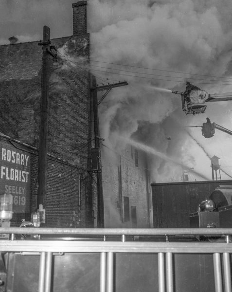 vintage 4-11 alarm fire Chicago