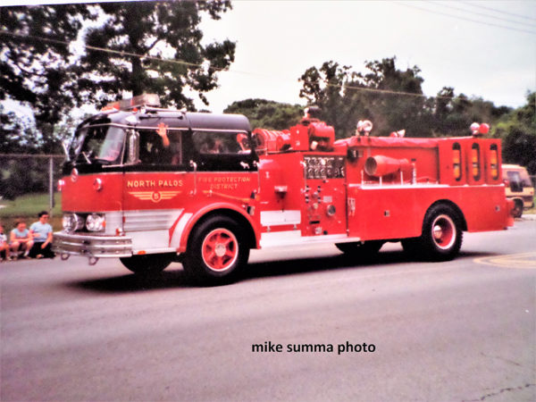 North Palos FPD historic fire engine