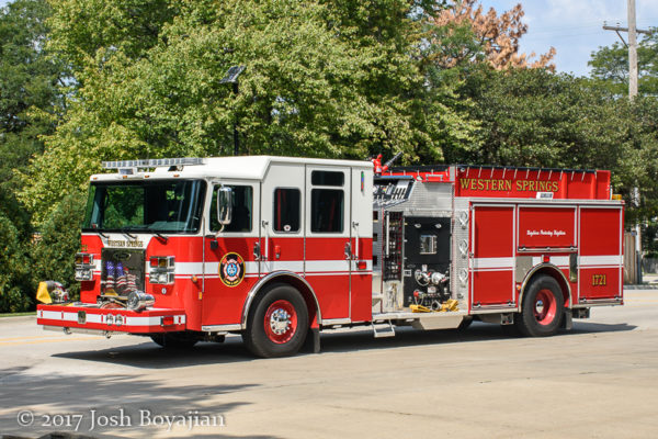 Western Springs FD Engine 1721