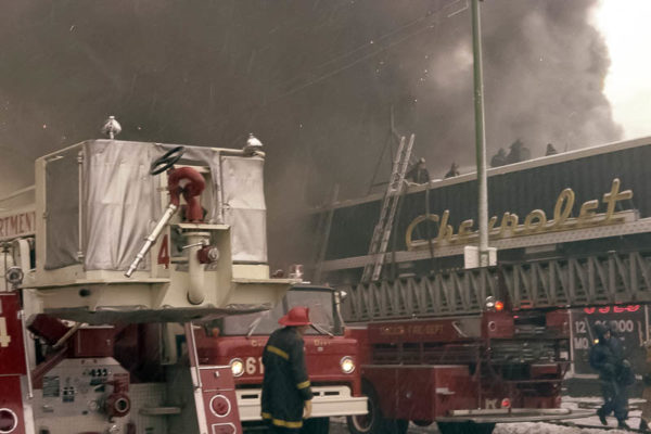 historic 4-11 alarm fire in Chicago
