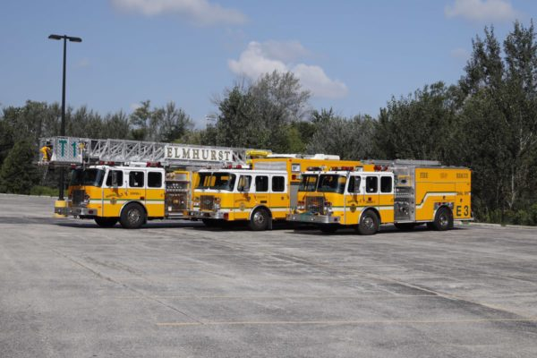 Elmhurst fire trucks