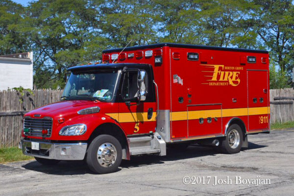 Morton Grove FD Ambulance 5
