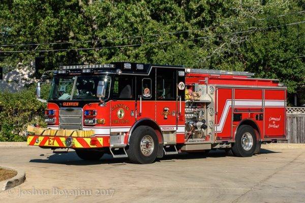 Glenview FD Engine 7