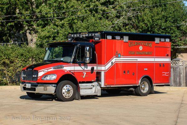Glenview FD Ambulance 7