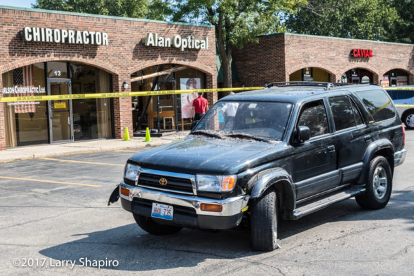 car into a store in Buffalo Grove