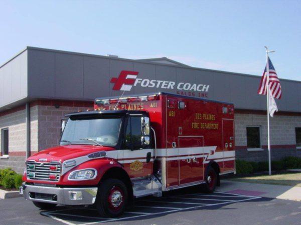 Des Plaines FD Ambulance 61