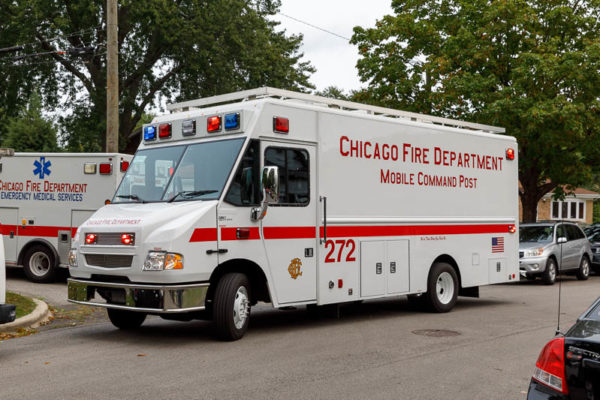 Chicago FD Comm Van 272