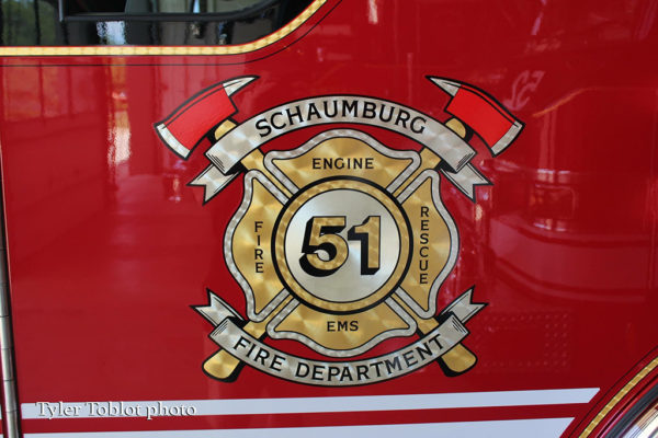 Schaumburg FD decal