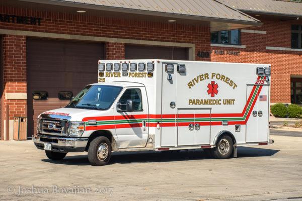 River Forest FD Ambulance 215