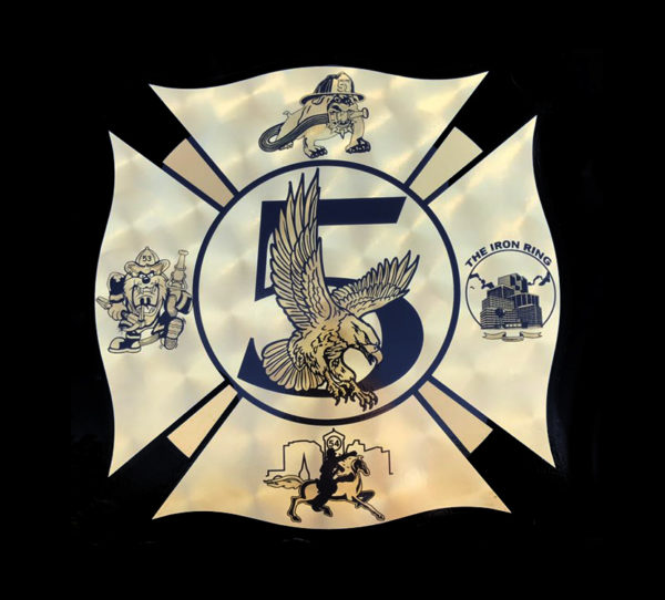 Schaumburg FD Battalion 5 decal