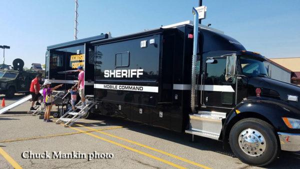 Kenosha County Sheriff Mobile Command Post