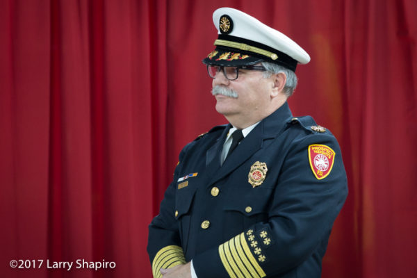 Prospect Heights FPD Chief Drew Smith