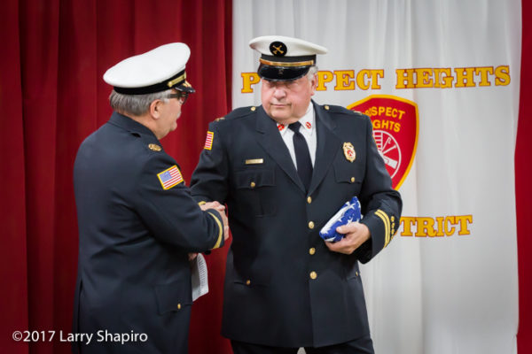 Prospect Heights FPD Battalion Chief Robert Pyzyna