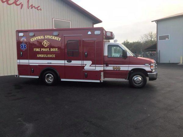 2017 Wheeled Coach Ford Type III ambulance