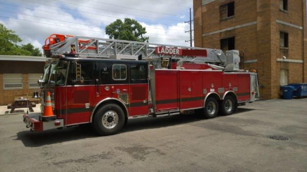 Franklin Park FD ladder truck for sale
