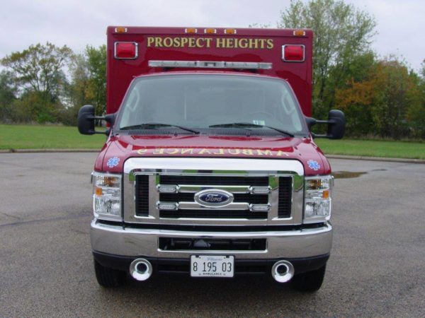 Prospect Heights Fire District ambulance