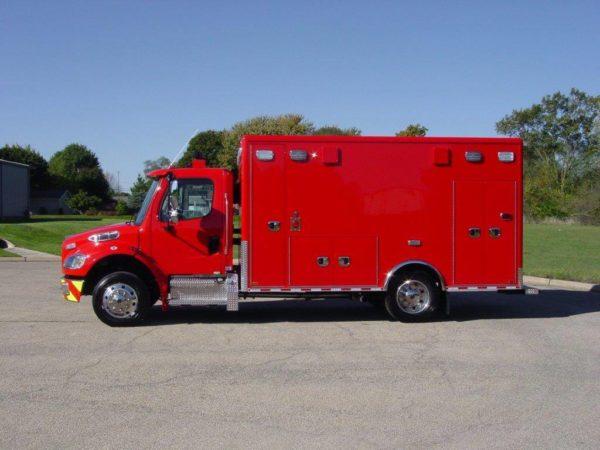 Wheeling FD ambulance