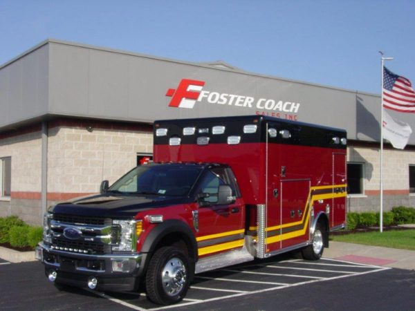 new ambulance for the Troy FPD