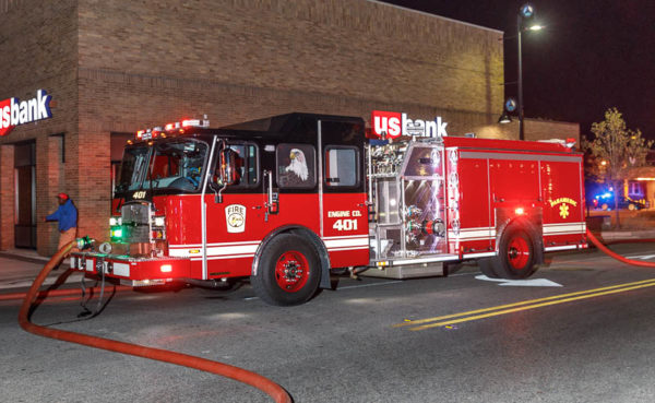 Forest Park fire engine