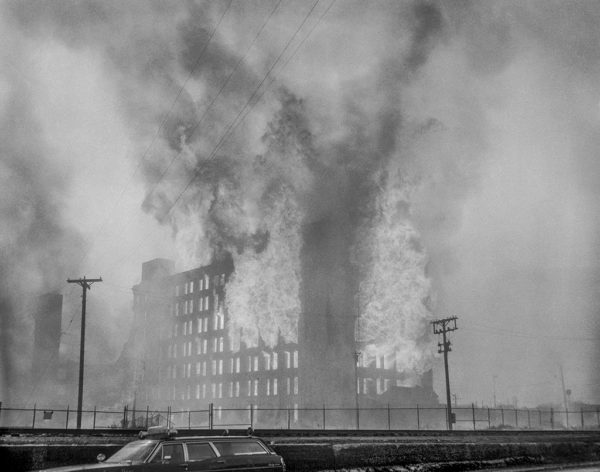 5-11 Alarm fire 2-17-74 in Chicago at the International Harvester Works 26th and Rockwell