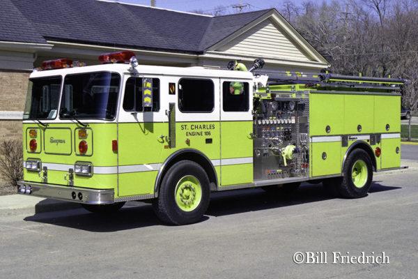 St Charles FD Engine 106