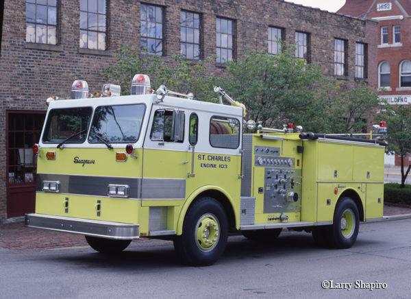 Seagrave Invader fire engine