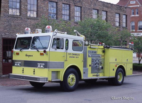Seagrave Invader fire engine
