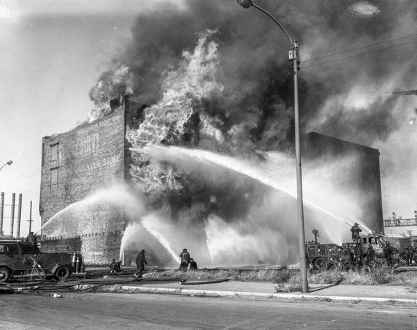 5-11 Alarm fire at 1816 S. Clark on 11/14/64