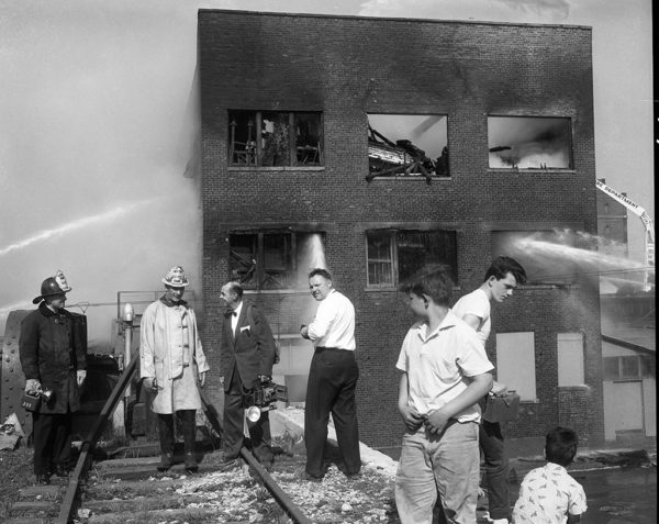 Vintage 5-11 Alarm fire in Chicago 4/26/62
