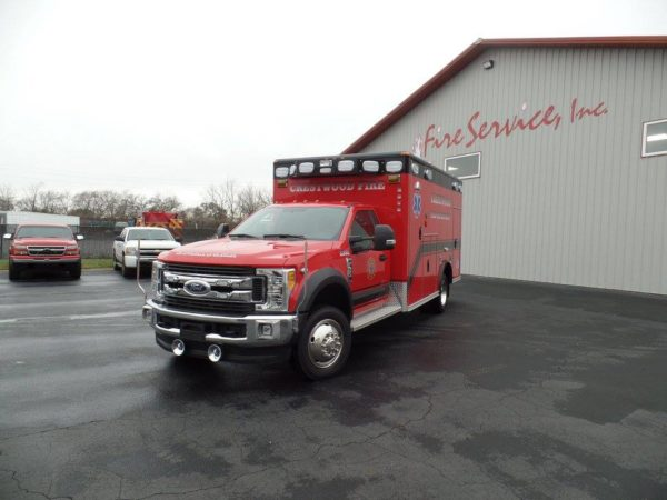 New Wheeled Coach ambulance for the Crestwood Fire Department