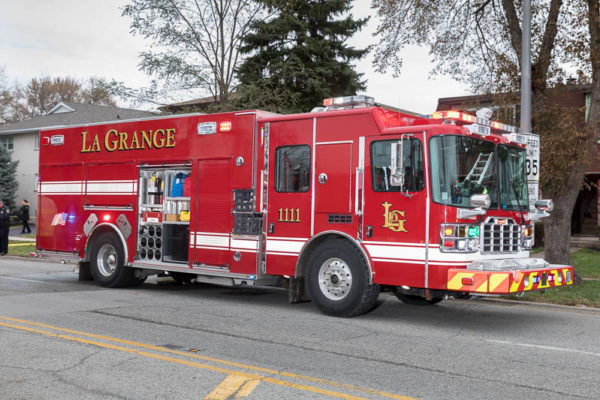 La Grange Fire Department fire engine