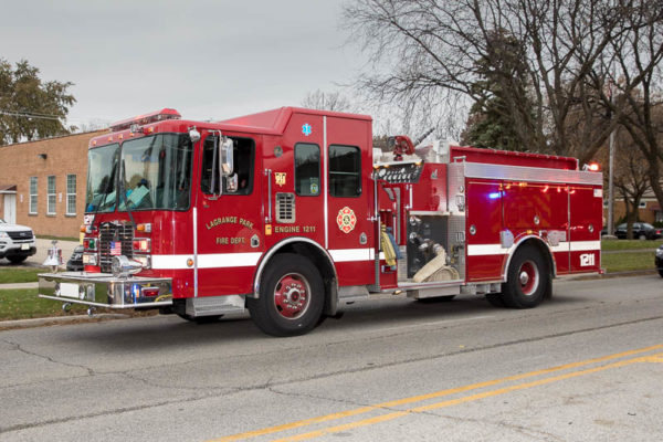 La Grange Park FD HME fire engine