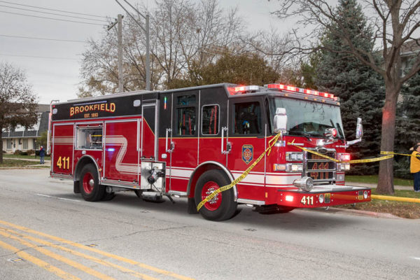 Brookfield FD fire engine