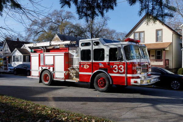 Dixmoor FD Fire engine