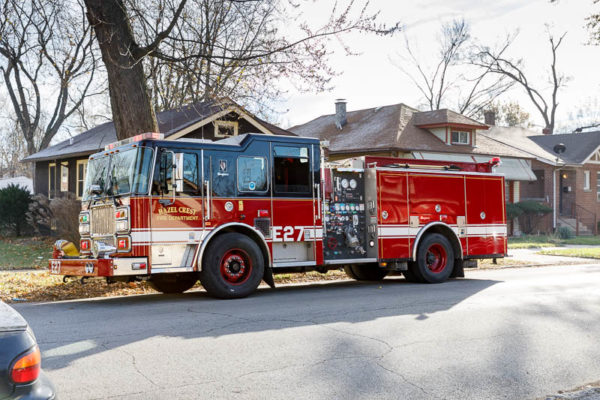 Hazel Crest FD Fire engine