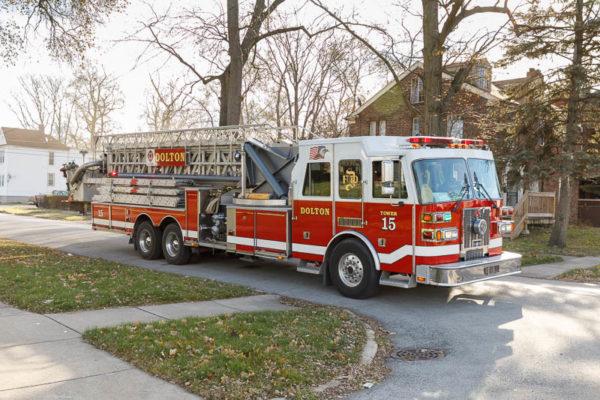 Dolton FD Fire truck