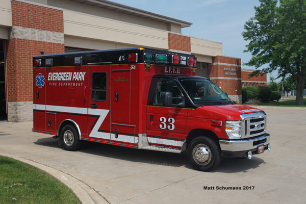 Evergreen Park FD Ambulance 33