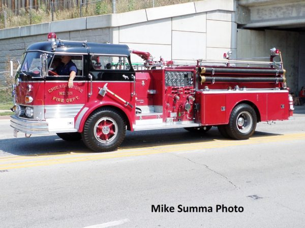 1965 Mack C95 fire engine