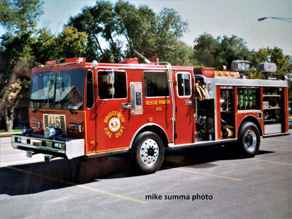 ridgeview Fire Department Engine 416