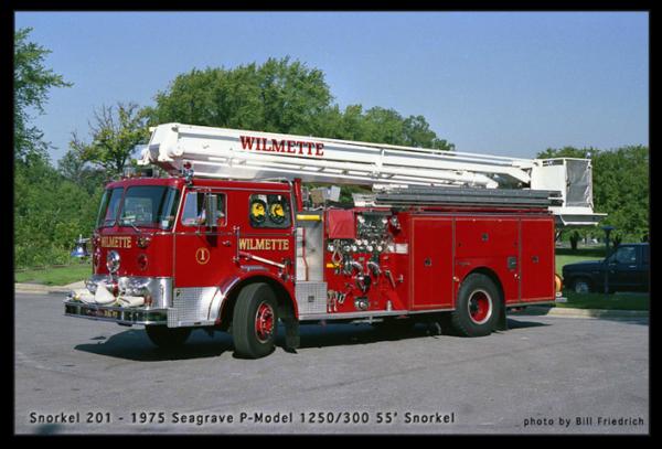 Seagrave 55' Snorkel from Wilmette IL