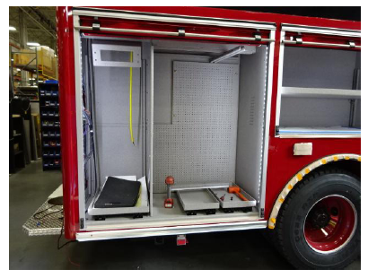 New fire truck being built by Pierce
