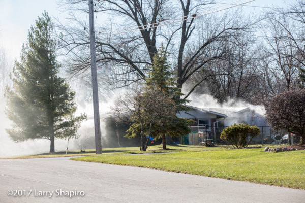 house fire in Arlington Heights