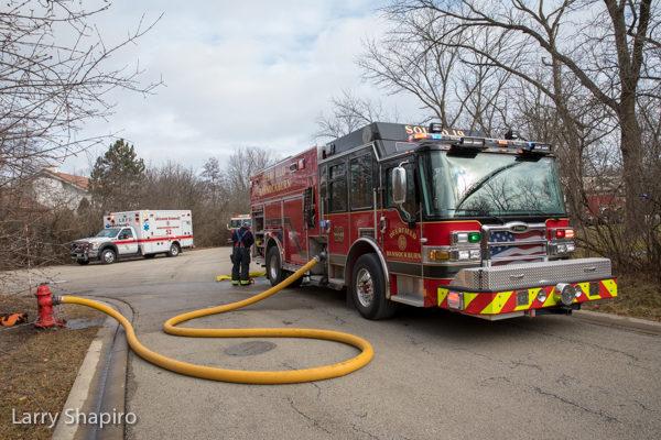 Deerfield-Bannockburn FPD fire truck