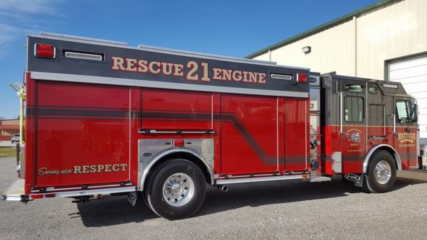 Mattoon FD Rescue Engine 21