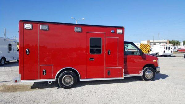 Midlothian FD ambulance